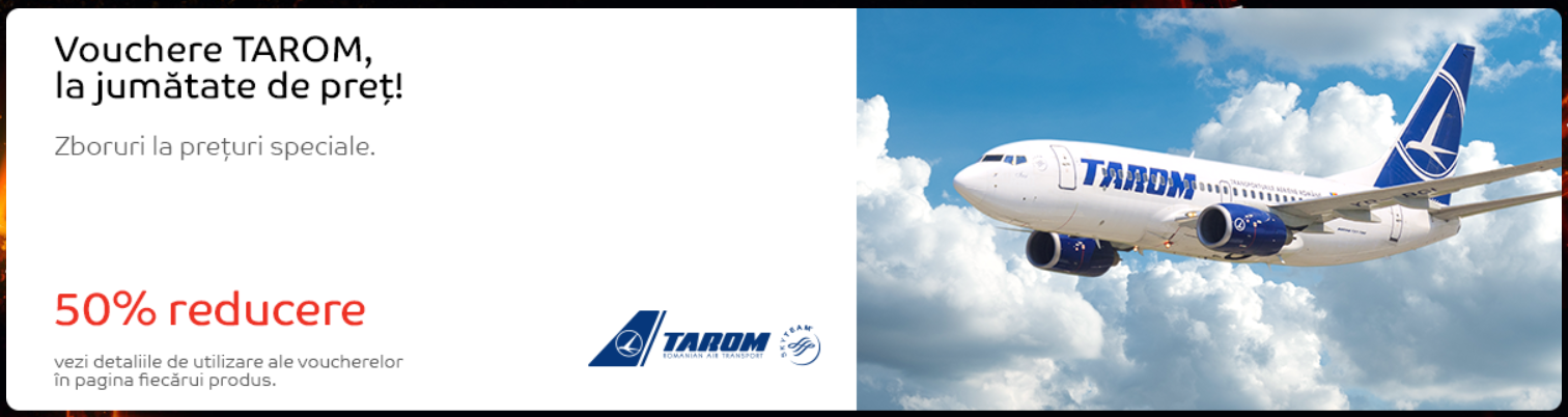vouchere tarom black friday emag